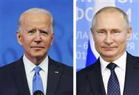 バイデン大統領、プーチン氏にウクライナ問題で懸念伝達 首脳会談を提案