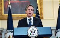 米EU外相会談、露軍の増強に「深い懸念」