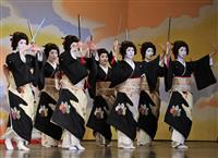 先斗町歌舞会がオンライン「鴨川をどり」のリハーサル