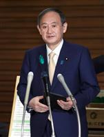 首相「五輪開催へ感染防止に万全」 二階氏発言めぐり