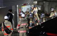 CO2濃度は通常の500倍超 東京・新宿の4人死亡事故、消火装置操作の形跡なし