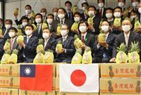 台湾のパイナップル農家支援 埼玉県議会議連、153個購入