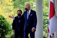 日米首脳、同盟強化を加速 「台湾の平和」重要性確認
