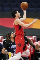 渡辺が自己最多の21得点 八村は6点 NBA