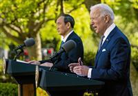 バイデン米大統領、記者会見で「ジョー・ヨッシー関係」の確立をアピール