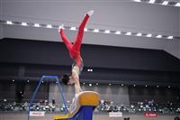 橋本、無欲の大逆転V 体操4種目で15点台 オールラウンダーのすごみ増す