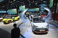 上海モーターショー開幕 日系企業、最新EV披露