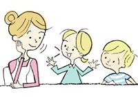 【子ども点描】大人が話の腰を折ってはいけない 「聴く」姿勢も肝心