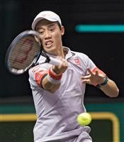 錦織39位で変わらず 男子テニスの19日付世界ランク