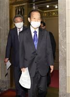 自民・二階氏「躊躇しちゃいけない」 東京、大阪の緊急事態宣言