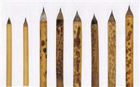 正倉院の宝物の「筆」 実用性を試作筆で立証