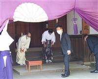 衛藤前領土担当相が靖国参拝 「鎮魂と一層の平和を祈念」