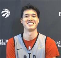 NBAラプターズと本契約「やっと成果が少し出た」 渡辺雄太、一問一答