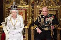 「心の支え」失ったエリザベス英女王、95歳に