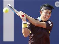 錦織、ナダルに敗れる 男子テニスのバルセロナOP