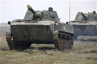 露軍、国境地帯から「撤収」 米は「行動を注視」