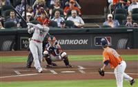 大谷は「2番・DH」で5打数2安打1打点1盗塁