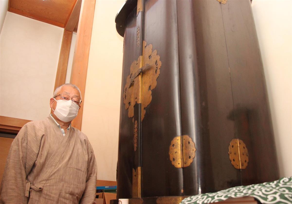 36年ぶりに秘仏「日輪大師像」御開帳 佐野の大聖院
