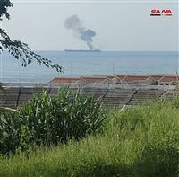 タンカー攻撃、3人死亡 シリア沖、イランから航行
