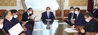 首相「国民の声に耳を傾け、結果を出したい」 衆参3選挙の与党全敗