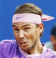 ナダルがツアー87勝目 男子テニスのバルセロナOP