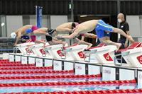 木村ら本番会場で初泳ぎ 東京パラ競泳でテスト大会