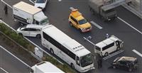 東名高速で多重衝突事故 6人軽傷、神奈川県