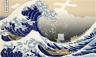 中国報道官が北斎浮世絵で処理水揶揄 外務省が抗議