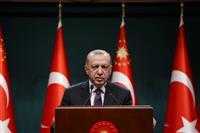 トルコ大統領「事実に反する」 ジェノサイド認定の米を非難