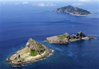 尖閣周辺に中国船 74日連続
