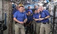 星出さん宇宙で船長就任 「素晴らしいミッションに」