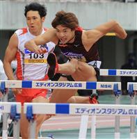 男子110メートル障害日本新の金井「区切り付けているからこそ」 陸上織田記念