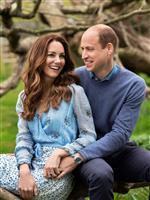 結婚10年、記念の写真公開 ウィリアム英王子夫妻
