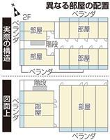 【住宅クライシス】部屋数が図面の2倍に、傾斜マンション構造 法に抵触の恐れも