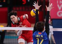 バレー男子、中国に勝つ 五輪テスト、親善試合
