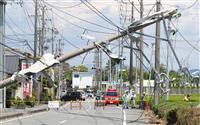 静岡突風は竜巻の可能性 建物被害97棟に