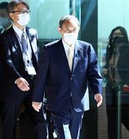 菅首相が選挙関係者と面会 世論動向めぐり意見交換か