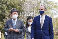 日英外相会談で対中・経済連携を確認 茂木氏、英空母の日本寄港を歓迎