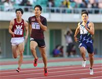 陸上静岡国際で飯塚が男子200メートル5年ぶりV コーナリングと準高地合宿に手応え
