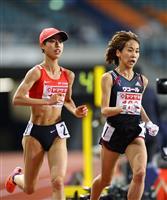 陸上女子1万メートルで安藤が五輪代表に「最後まで諦めず走れた」