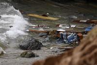 米サンディエゴ沖で船転覆、3人死亡27人負傷 不法入国の密航船?