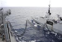 日仏、沖縄で洋上補給訓練 中国牽制をアピール