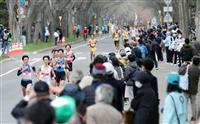沿道応援で「密」 五輪マラソンテスト大会、本番へ不安拭えず