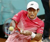 錦織、西岡とも2回戦敗退 テニスのマドリードOP