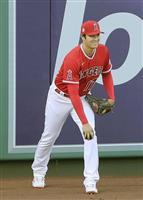 大谷はレイズ戦登板も打者では先発せず 筒香は7番・一塁
