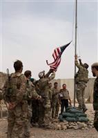 米軍のアフガン撤退順調 国防長官が会見