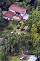 茨城一家殺傷 岡庭容疑者、自転車で千葉移動か 運転免許なく