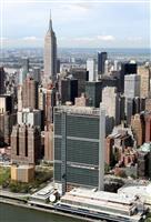 国連で米と中ロが互いを批判 多国間主義の在り方めぐり