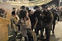 エルサレム聖地で衝突 160人負傷、緊張高まる