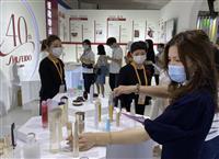 中国・海南島の博覧会で資生堂など日本勢がアピール コロナ禍で海外旅行できず日本商品に注…